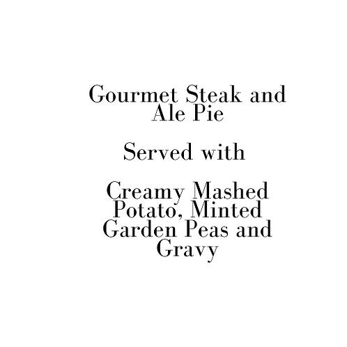 Gourmet Steak and Ale Pie (Sunday)