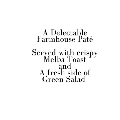 Farmhouse Paté (Valentine)