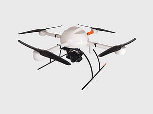 White Quadcopter Drone