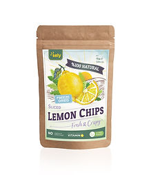 Sely Freeze Dried Lemon Chips