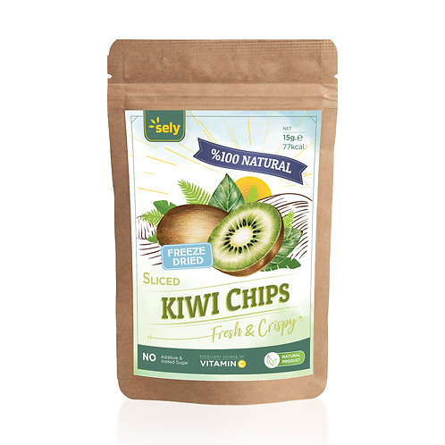 Sely Freeze Dried  Kiwi Slices 15 gr