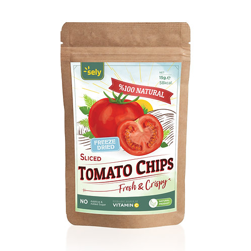 Sely Freeze Dried  Tomato Slices 15 gr