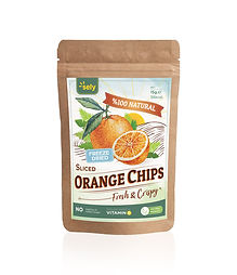 Sely Freeze Dried Orange Chips