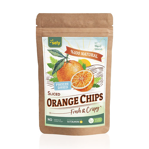 Sely Freeze Dried  Orange Powder 15 gr