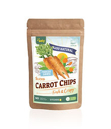 Sely Freeze Dried Carrot Slices
