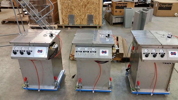 Powder Coating Hoppers