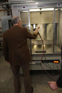 Senator Grassley Visits Deimco