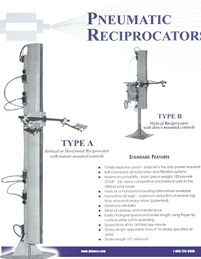 Pneumatic Reciprocators