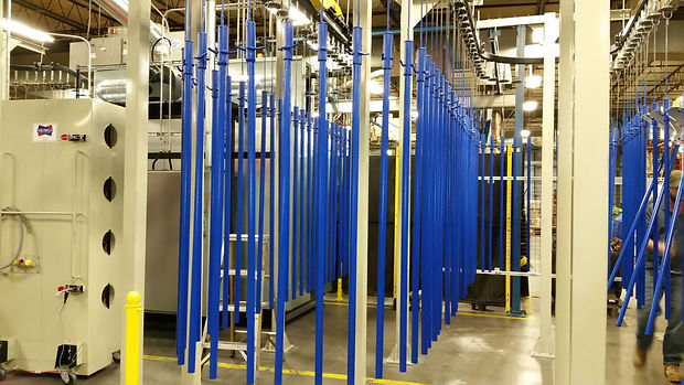 Powder Coating Hang Line