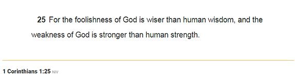 First Corinthians 1_25