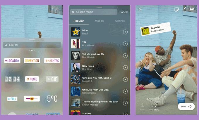Novo recurso do Instagram permite músicas nos Stories; veja como usar