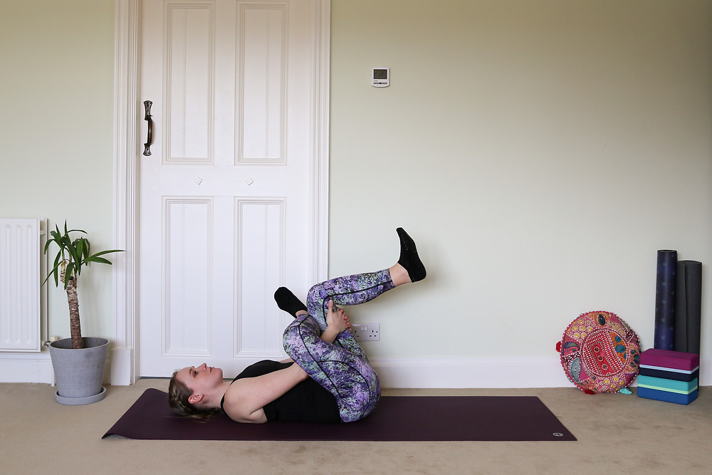 This is a great option to prepare the body for pigeon pose