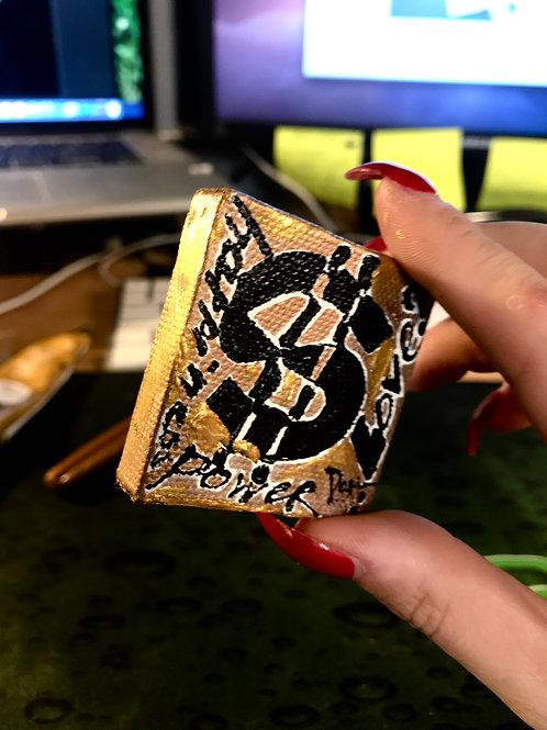 "Happy Dollar (power) (5x5cm/2x2"")"