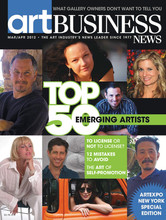 Art Business News 2012 - Top 50 Emerging Artists