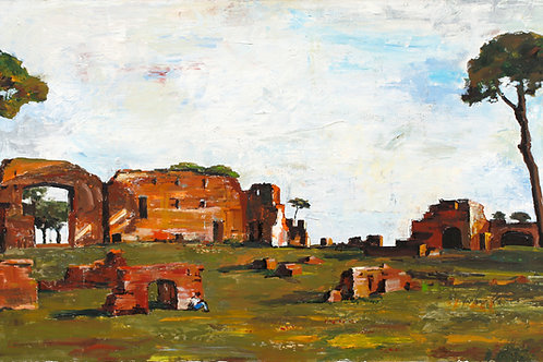 "PALATIN, ROME, ITALY (80x150cm / 31x67"")"