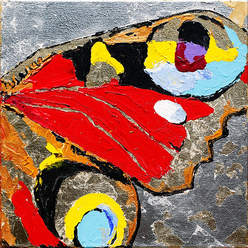 """BUTTERFLY WING RED (30.5x30.5 / 12x12"""")"""