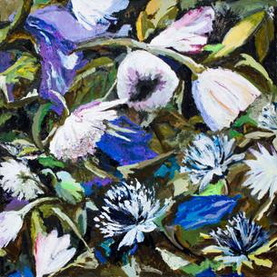 """acrylic on canvas 47x47""""/120x120cm 2007"""