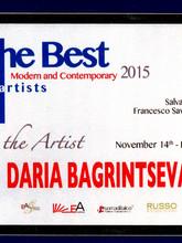 The Best Modern Artist 2015
