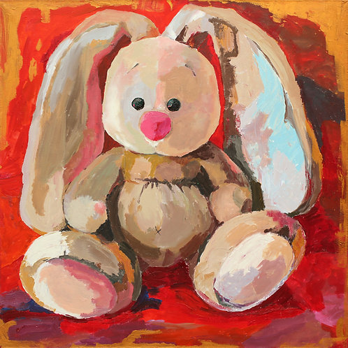 "Tiny guy (150x150cm / 59x59"")"