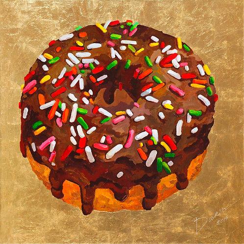 """Donut (100x100cm / 39x39"""")"""