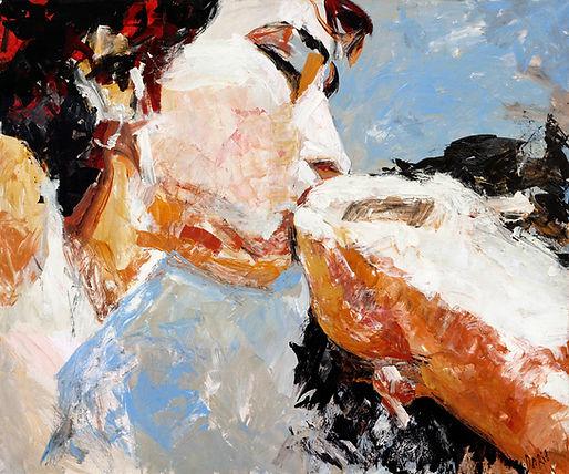 5.Daria_Bagrintseva_Kiss_2005_40x47in(9.