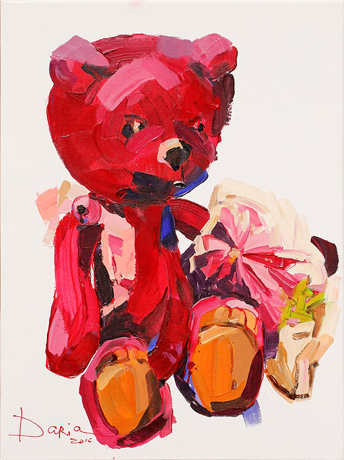 "Honey Bunny (61x46cm / 24x18"")"