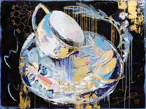 "Mad Teaparty (91x122cm / 36x48"")"