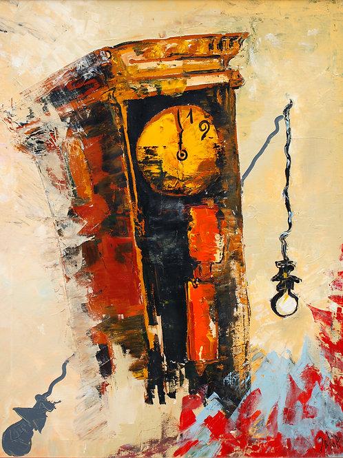 "Time (100X80cm / 39x31,5"")"