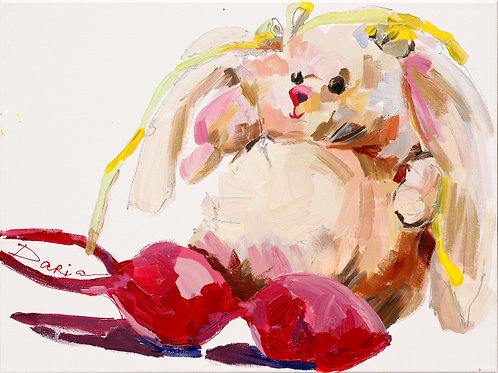 """What do you know about toys? (46x61cm / 18x24"""")"""