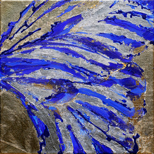 BUTTERFLY WING BLUE