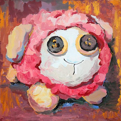 """Cute (50x50cm / 19.7x19.7"""")"""