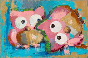 OWLS FOOL AROUND