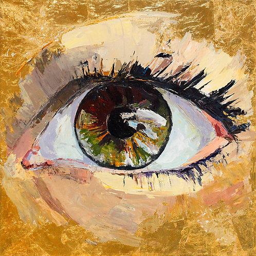 """Eye (80x80cm / 32x32"""")"""