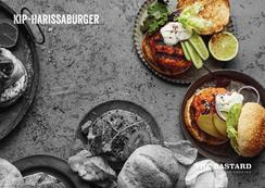 Kip-harissaburger