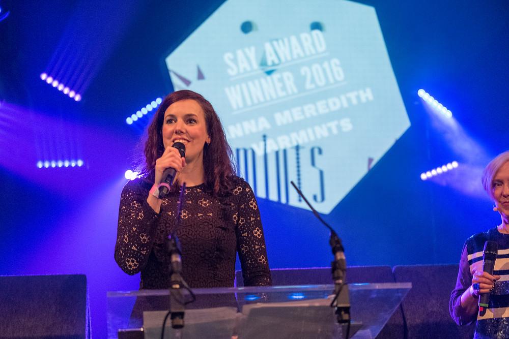 SAY Award Winner Anna Meredith. Pic Credit: Euan Robertson