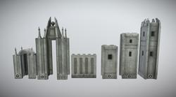 Medieval castle kit (MUD)