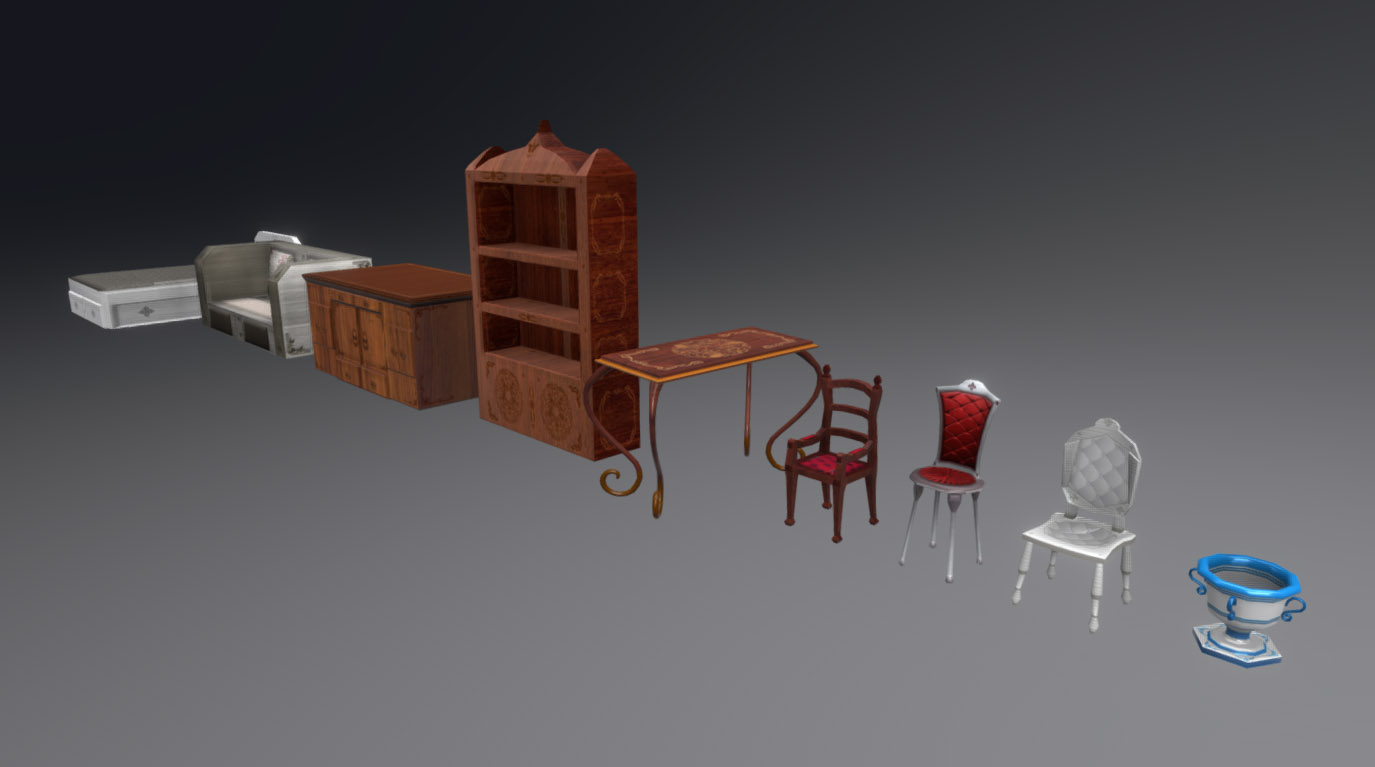 Classic Furniture Set