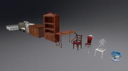 Classic Furniture Set