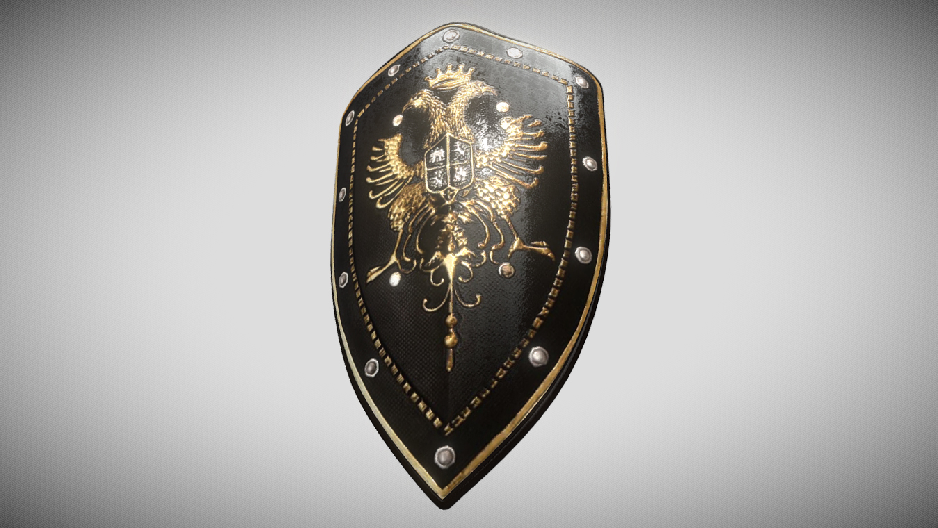 Eagles Medieval Battle Shield