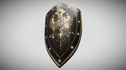 Eagles Medieval Battle Shield