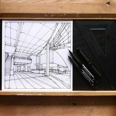 #sketch #rapid #perspective #drawing #en
