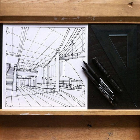 #sketch #rapid #perspective #drawing #en