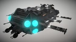 Carrier Spaceship