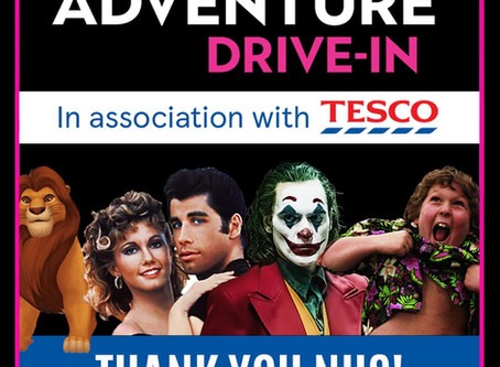 Drive in Cinema - A Thank you for NHS Heroes!