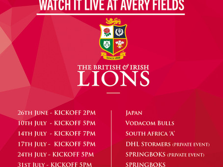 The Lions Roar is coming to Avery Fields!