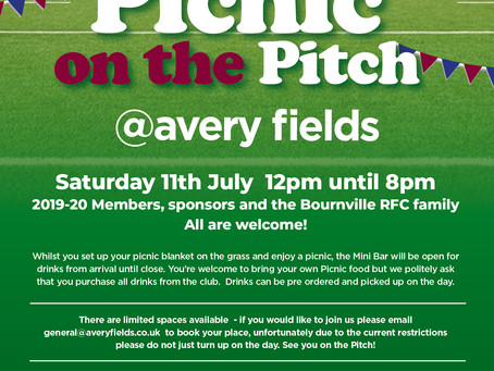 Return of  Picnic on the Pitch - 11th July 2020