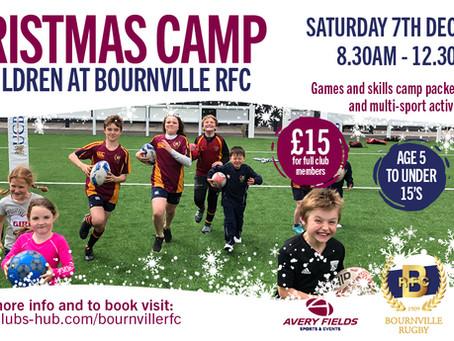 BRFC Christmas Sports Camp