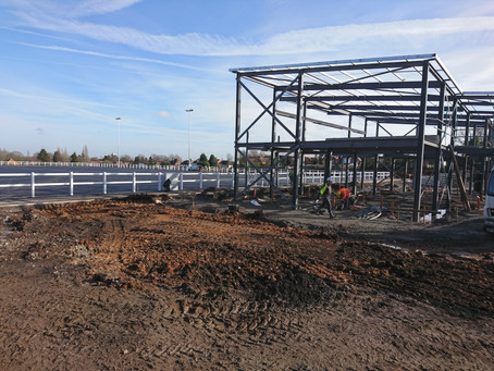 Another step forward - The Avery Fields site makes huge progress.
