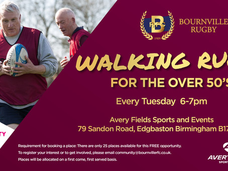 Walking Rugby is Back!