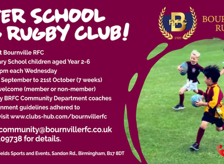 After School Tag Rugby -Every Wednesday